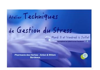 Banderole gestion du stress
